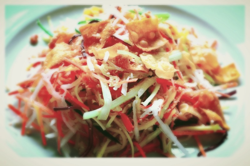 Naturally Chinese Raw Salad