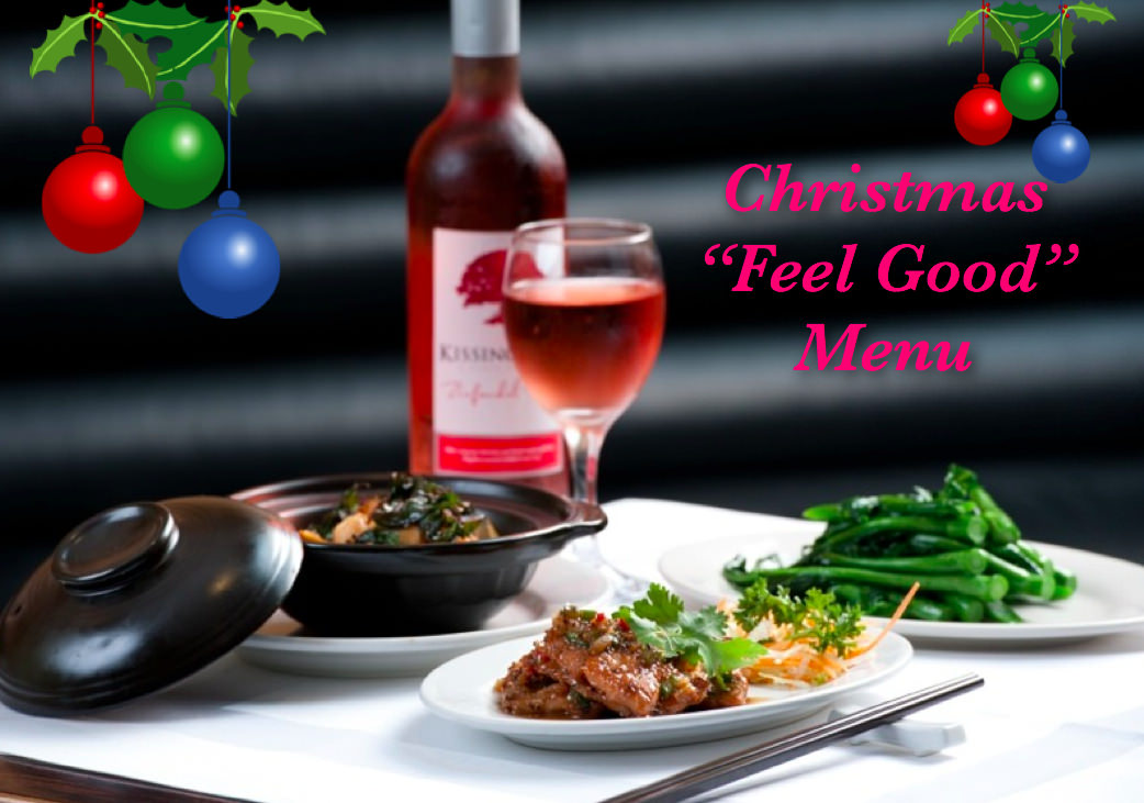 Naturally Chinese Feel Good Christmas Menu